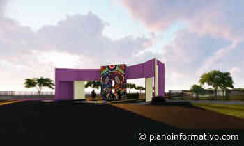 Parques de Matehuala y Charcas por inaugurarse - Plano informativo