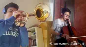 Bellusco-Mezzago: gli alunni del Comprensivo contro il Covid con la musica - Merate Online