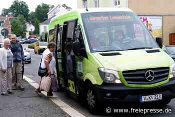 Bürgerbusse im Vogtland müssen pausieren - Freie Presse