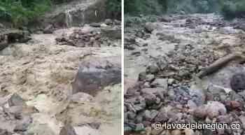 Creciente súbita destruyó bocatoma del acueducto en Tarqui - Noticias