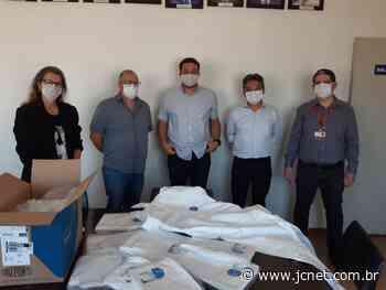 Pederneiras recebe respiradores, máscaras e macacões para equipar servidores da saúde - JCNET - Jornal da Cidade de Bauru