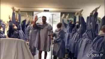 VIDÉO. Suresnes : touché par le coronavirus, il sort de réanimation en marchant - actu.fr