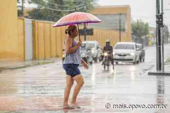 Fortaleza registra chuva nesta sexta-feira; em Aquiraz, 110 milímetros - O POVO