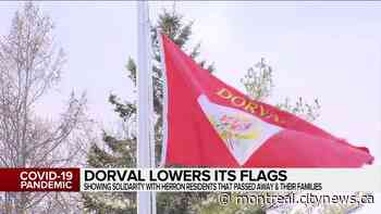 Dorval lowers its flags - CityNews Montreal
