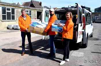 Covid-19. La Ville de Marcq-en-Baroeul a fait le plein de matériel pour le CHU de Lille - actu.fr