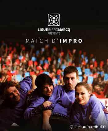 MATCH IMPROVISATION PRO - LIGUEIMPROMARCQ.COM - Théâtre Charcot, Marcq En Baroeul, 59700 - Le Parisien Etudiant