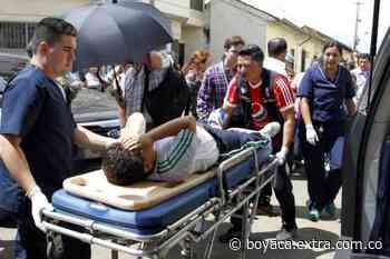 Herido motorizado en accidente en la vía Cucunubá y Ubaté - Extra Boyacá