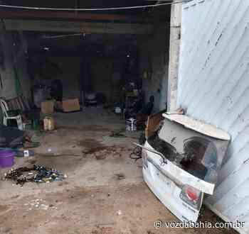Polícia estoura desmanche em Campo Formoso - Voz da Bahia