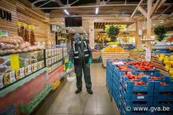 Supermarkten om de drie dagen volledig professioneel ontsmet: kleine supermarkten in Hoboken nemen grote maatregelen - Gazet van Antwerpen