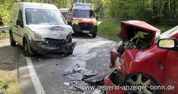 Unfall in Remagen: Fahrzeuge prallen frontal zusammen - Drei Verletzte - General-Anzeiger