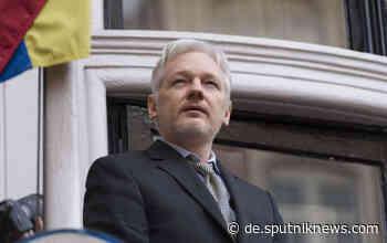 Im Auftrag der CIA? Vertrauliche Gespräche von Julian Assange mit seinen Anwälten abgehört - Sputnik Deutschland