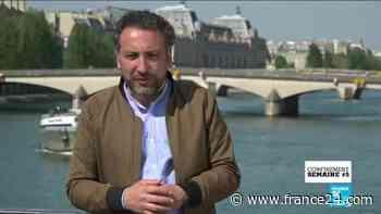 Confinement - Semaine # 5 : à Aulnay-sous-Bois, avec les étudiants étrangers, des drones au-dessus de Paris - FRANCE 24