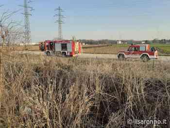 Ancora un incendio nelle campagne: pompieri fra Gerenzano e Turate - ilSaronno