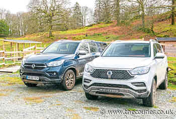Taking on the Lake District off road in SsangYong Rexton and Musso - The Courier - The Courier