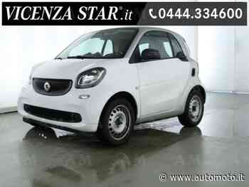 Vendo smart fortwo 70 1.0 twinamic Passion usata a Altavilla Vicentina, Vicenza (codice 7411560) - Automoto.it