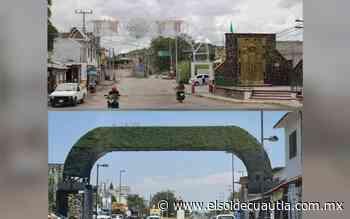 Arco en Anenecuilco no logró ser acceso emblemático - El Sol de Cuautla