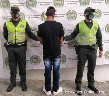 Capturado en Ambalema por no respetar el aislamiento social - Alerta Tolima