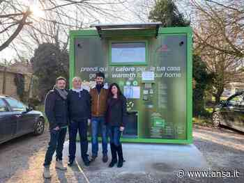 A Molinella il distributore automatico di biomasse sfuse (DAb) si riconferma un ottimo investimento - Agenzia ANSA
