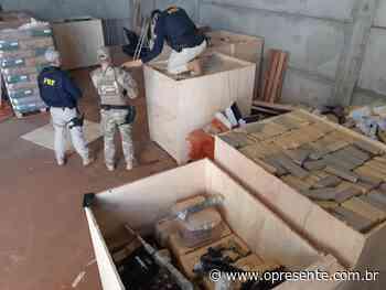 Com 8,2 toneladas, apreensão de maconha em Palotina é a maior do ano feita pela PRF no país - O Presente