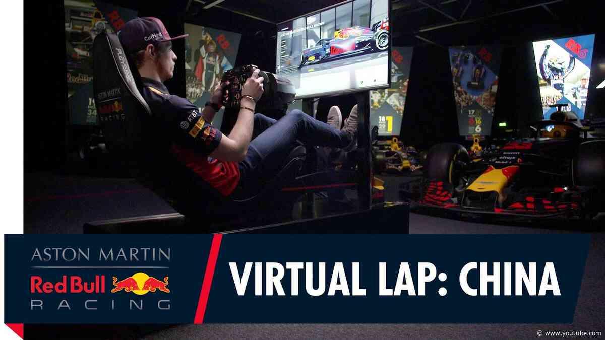 @Citrix Virtual Lap: Max Verstappen at the Chinese Grand Prix
