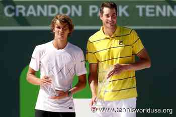 ThrowbackTimes Miami: John Isner downs Alexander Zverev in last Crandon Park final - Tennis World USA