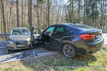 Unfall in Essingen: Eine Person verletzt - Schwäbische Post