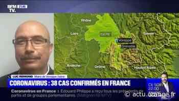 Coronavirus: en pleine campagne électorale, le maire de Voreppe (Isère) est confiné chez lui - Actu Orange