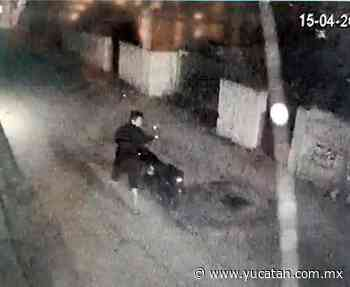 Policía de Oxkutzcab recupera motocicleta robada - El Diario de Yucatán