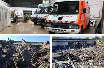 Croissy-Beaubourg : après avoir tout perdu dans l'incendie, Vital Secours appelle à l'aide - Le Parisien