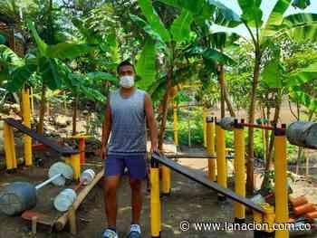 El gimnasio ecológico de Sammy en Campoalegre • La Nación - La Nación.com.co