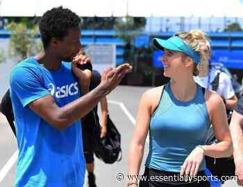 WATCH: Gael Monfils And Elina Svitolina Enjoy A Different Kind Of Tennis - Essentially Sports