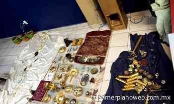 Detienen a Ladrón que Saqueó Iglesia de Ciudad Hidalgo - Primer Plano