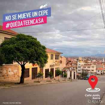 ¡La ciudad blanca de Sucre para completamente! No te olvides que hoy sábado y mañana domin… - eju.tv