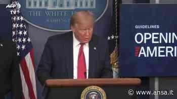 Stati Uniti, nuovo record di vittime: pronto pero' il piano di Trump - Mondo - Agenzia ANSA