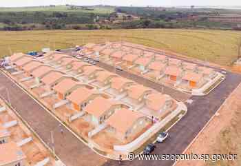 Secretaria da Habitação entrega 70 casas para famílias de Mococa - Portal do Governo do Estado de São Paulo