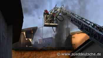 Murnau am Staffelsee: Millionenschaden nach Brand - Süddeutsche Zeitung