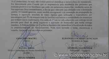 Comitê de gerenciamento de crise reconhece oficialmente transmissão comunitária em Ituporanga - Prefeitura de Ituporanga