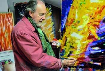 Martellago: Menegazzi, pittore pop art - La Piazza