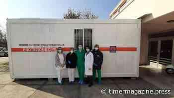 Coronavirus, consegnato al Cro di Aviano il container per esame dei tamponi - TIMER Magazine
