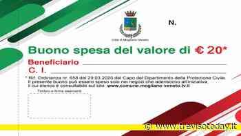 Coronavirus, a Mogliano inizia la distribuzione dei buoni spesa - TrevisoToday