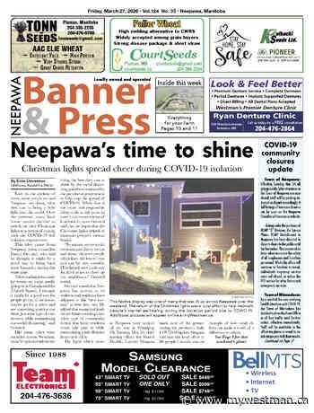 Friday, March 27, 2020 Neepawa Banner & Press - myWestman.ca