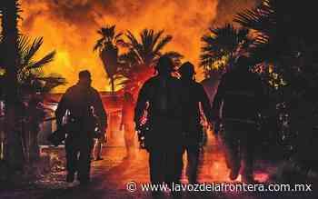 Registran incendio en bodegas Santo Tomas - La Voz de la Frontera