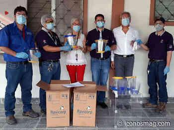 Emsula dona Aguazul y equipo de protección a Hospital Leonardo Martínez - Iconos Mag