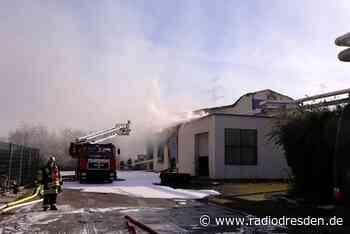 Großbrand in Heidenau - Radio Dresden