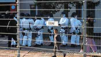 Erneut Polizeieinsatz in der Erstaufnahmeeinrichtung in Suhl - Thüringer Allgemeine