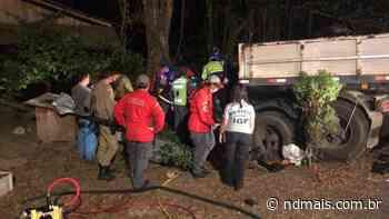 Três vítimas fatais do acidente na BR-280, em Araquari, são identificadas - ND - Notícias