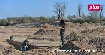 Archäologische Grabungen in Monsheim sind beendet - Wormser Zeitung