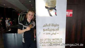 Sophie Büscher Weltmeisterin im Ju-Jutsu - chiemgau24.de