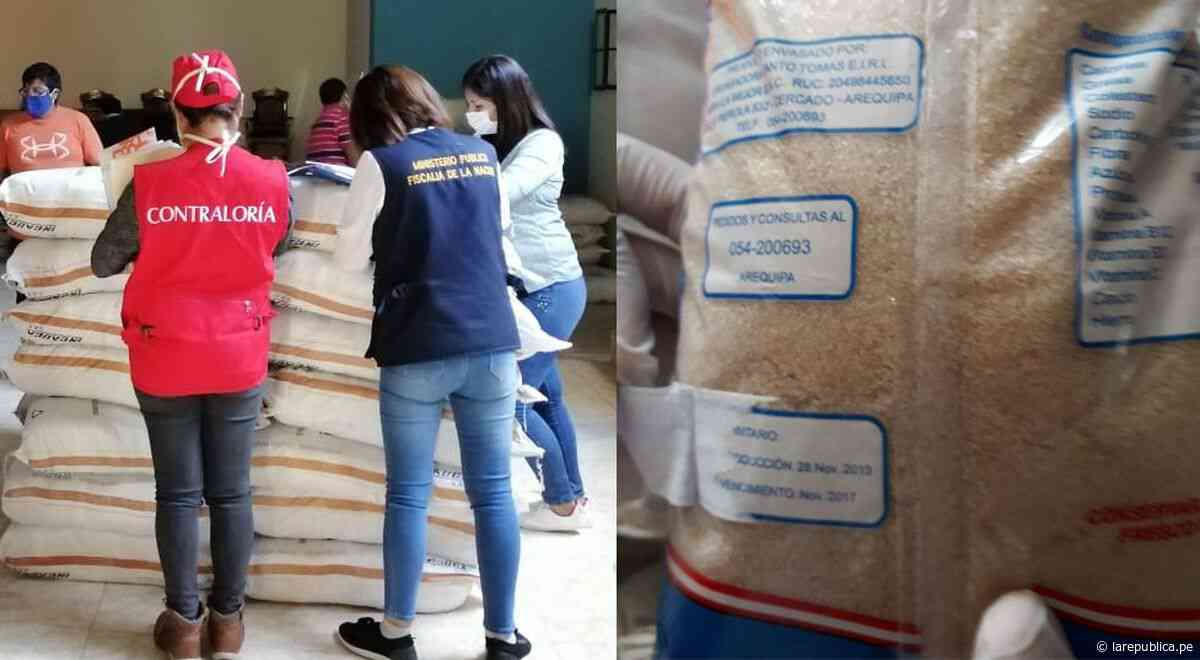 Arequipa: Entregan azúcar con fecha de vencimiento adulterada en Cocachacra - LaRepública.pe