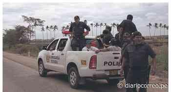 La Policía retira a balazos a vecinos que instalaban tranqueras en La Arena - Diario Correo